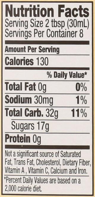 Organic Corn Syrup Light 11.2 Ounce 317 Gram
