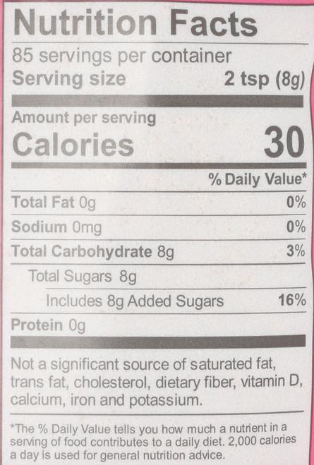 Organic Light Brown Sugar  1.5 Pound 24 Ounce