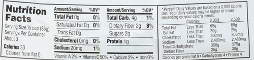 Organic Broccoli Florets 10 Ounce 283 Gram