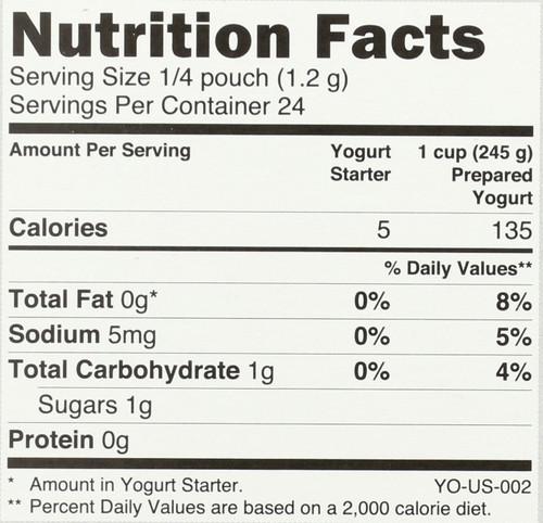 Yogurt Starter  1 Ounce 30 Gram