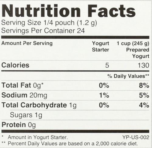 Yogurt Starter Probiotic 1 Ounce 30 Gram
