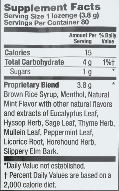 Herbalozenge Menthol 80 Drops  80 Count