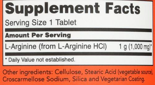 L-Arginine 1000 mg - 120 Tablets