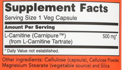 L-Carnitine 500 mg - 180 Vcaps®