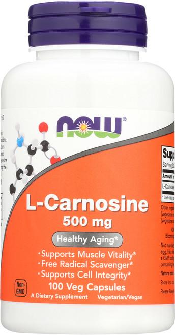 L-Carnosine 500 mg - 100 Vcaps®