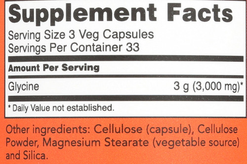Glycine 1000 mg - 100 Capsules