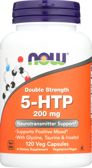 Double Strength 5-HTP 200 mg (120 vc)