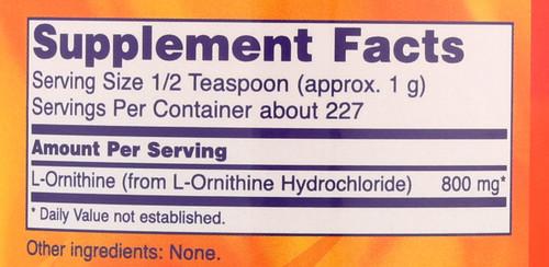 L- Ornithine - 8 oz.