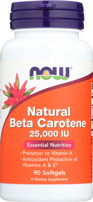 Beta Carotene (Natural) - 90 Softgels