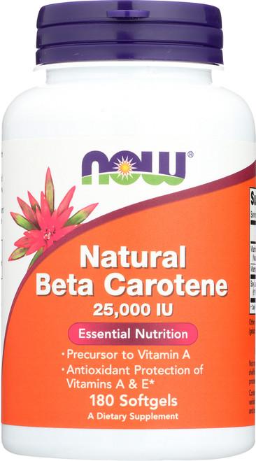 Beta Carotene (Natural) - 180 Softgels