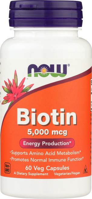 Biotin 5000 mcg - 60 Vcaps®