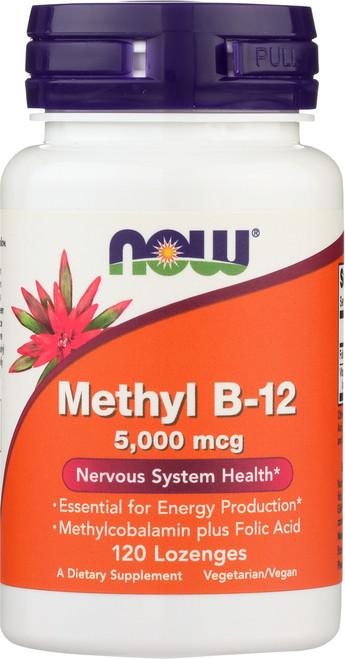 Methyl B-12 5000 mcg - 120 Lozenges