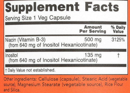 Flush-Free Niacin 500 mg - 90 Vcaps®