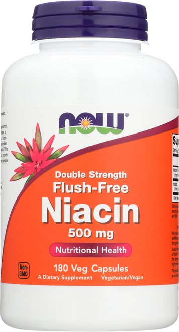 Flush-Free Niacin 500 mg - 180 Vcaps®