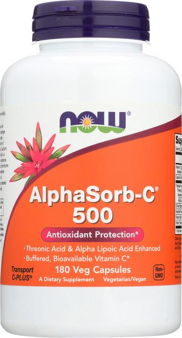 AlphaSorb-C™ 500 - 180 Veg Capsules
