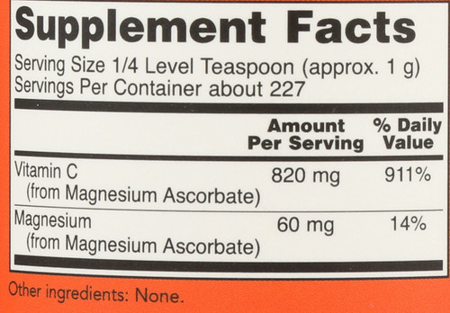Magnesium Ascorbate Powder - 8 oz.