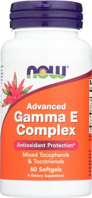 Advanced Gamma E Complex - 60 Softgels