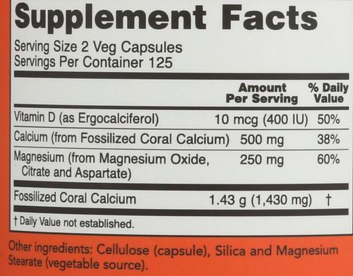 Coral Calcium Plus - 250 Veg Capsules