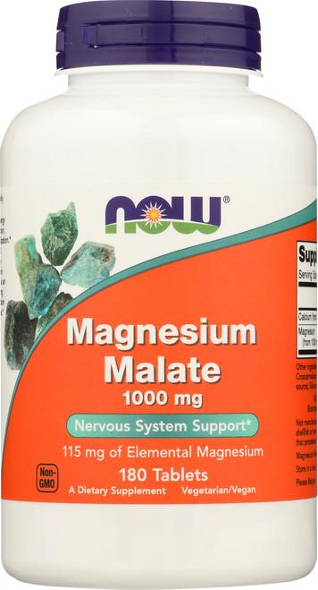 Magnesium Malate 1000 mg Vegetarian - 180 Tablets