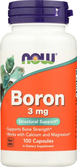 Boron 3 mg - 100 Capsules