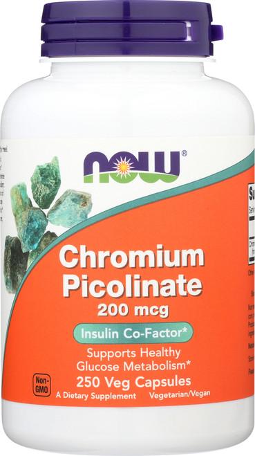 Chromium Picolinate 200 mcg - 250 Capsules