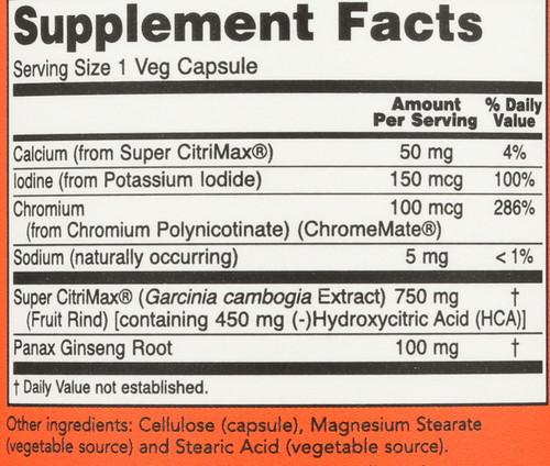 Super Citrimax - 90 Capsules
