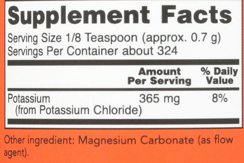 Potassium Chloride Powder - 8 oz