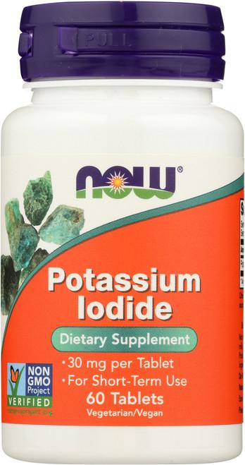 Potassium Iodide 30 mg - 60 Tablets