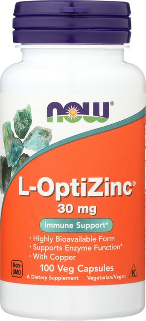 L-OptiZinc® 30 mg - 100 Capsules