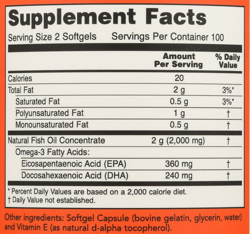 Omega-3 - 200 Softgels