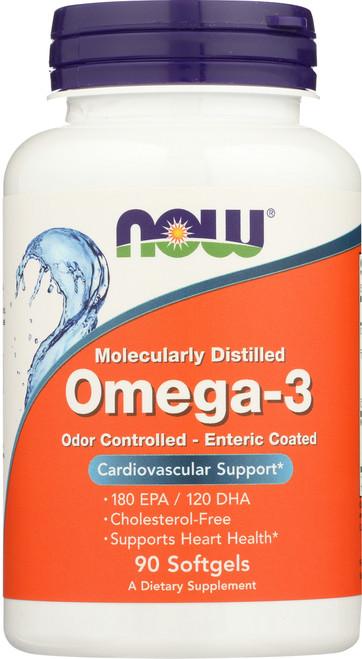 Molecularly Distilled Omega-3 - 90 Softgels