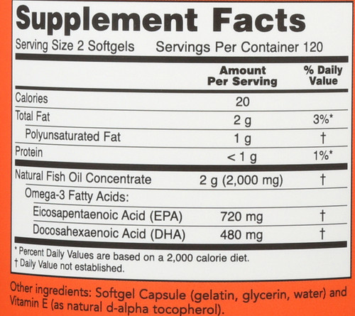 Super Omega EPA - 240 Softgels