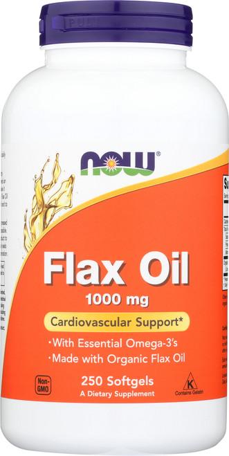 Flax Oil 1000 mg - 250 Softgels