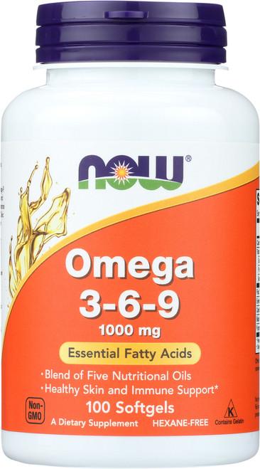Omega 3-6-9 1000 mg - 100 Softgels
