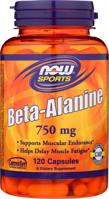 Beta-Alanine 750 mg - 120 Capsules