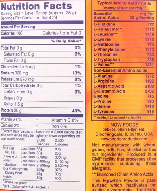 Eggwhite Protein Vanilla Creme - 1.5 Lbs.