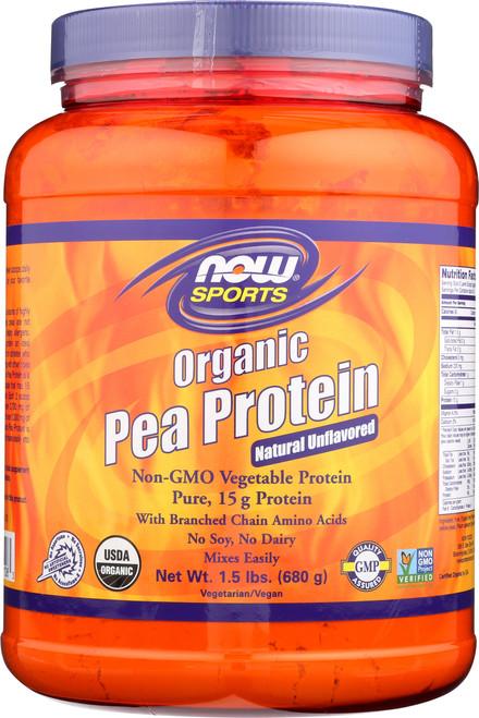 Pea Protein, Organic - 1.5 lbs.