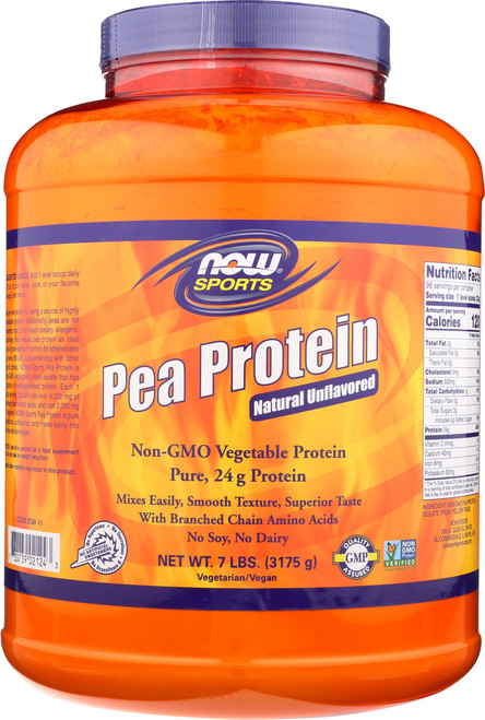 Pea Protein Natural Unflavored - 7 lbs.