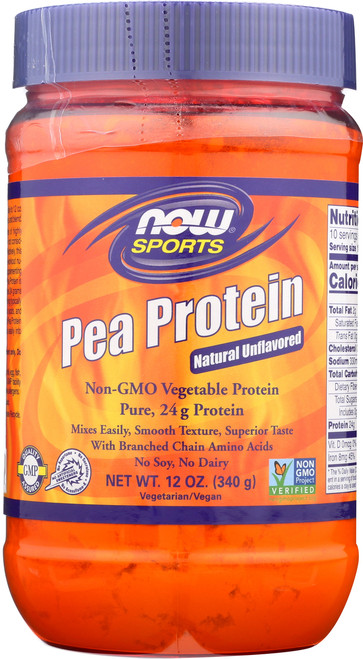 Pea Protein Natural Unflavored - 12 oz.