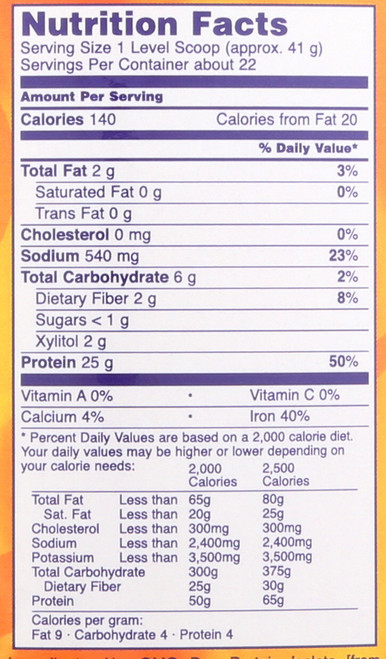 Pea Protein Vanilla Toffee - 2 lbs.