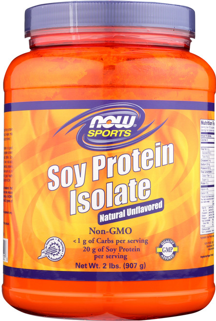 Soy Protein Isolate Non-GMO Unflavored - 2 lbs.