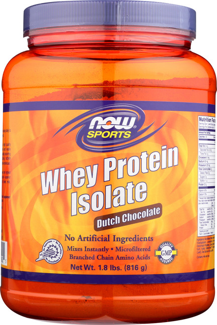 Whey Protein Isolate Dutch Chocolate - 1.8 lbs.