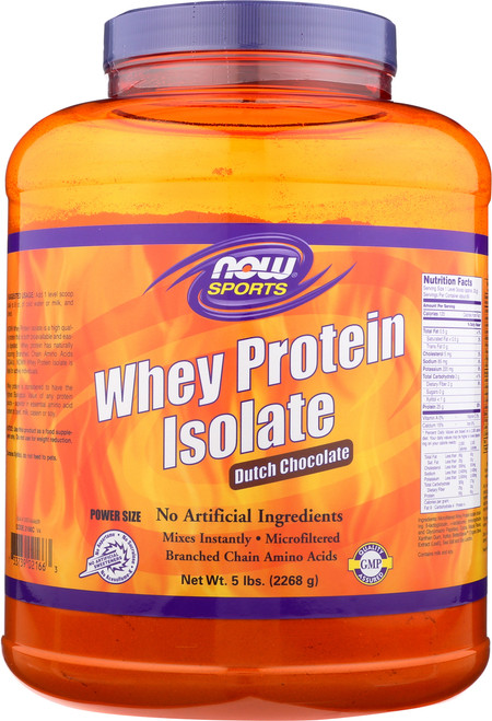 Whey Protein Isolate Chocolate - 5 lbs.