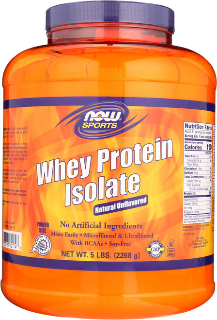 Whey Protein Isolate - 5lbs