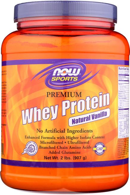 Premium Whey Protein (Vanilla) - 2 lbs.