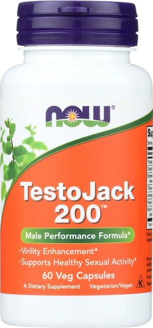 TestoJack 200™ Extra Strength - 60 Veg Capsules