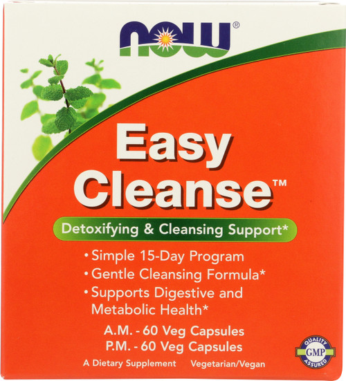 Easy Cleanse™ - A.M. 60 Vcaps®, P.M. 60 Vcaps®