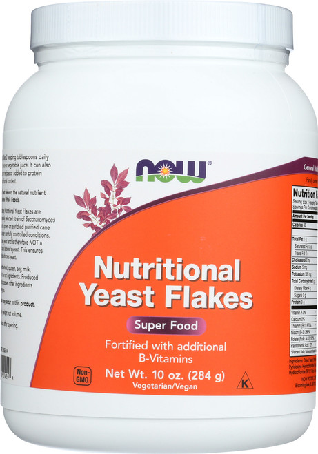Nutritional Yeast Flakes Red Star Vegetarian - 10 oz.