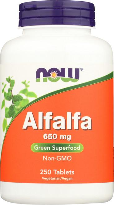 Alfalfa 650 mg - 250 Tablets