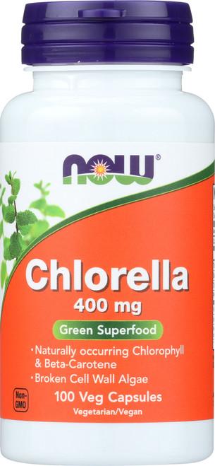 Chlorella 400 mg - 100 Veg Capsules